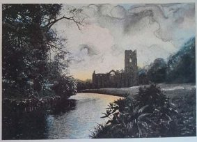Jennifer Dickson Fountains Abbey at Dusk