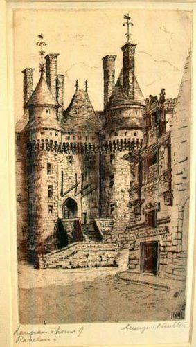 Castle Front, Rabelais byMargaret Aulton