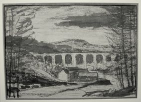 Alfred Thornton - Viaduct at St Germans, Cornwall