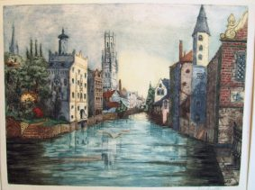 Margaret Aulton - Quai des Roseraies, Bruges