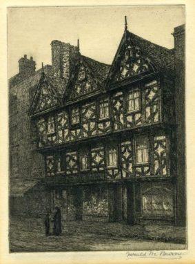 Gerald Maurice Burn - Tudor House