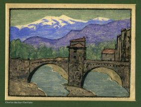 Charles Eastlake - River and Bridge