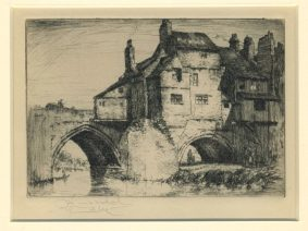George Huardle-Bly - Old Elvet Bridge, DURHAM
