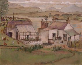 Irene Greig - Cottage by the Sea, Lismore