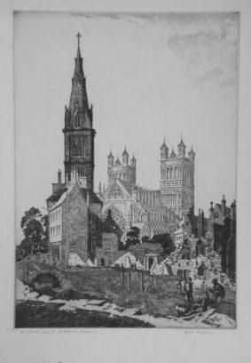 James Priddey - St. Sidwells & The Cathedral, Exeter