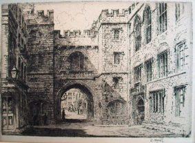 Monk, William - ST. JOHN'S GATE, CLERKENWELL