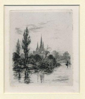 Richard Nibbs - FISHERMEN ON THE RIVER