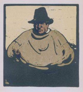 Sir William Nicholson - A Fisher