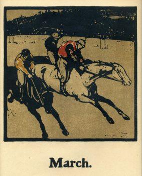 Sir William Nicholson - Almanac of 12 Sports