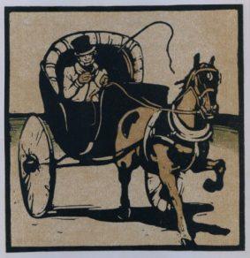 Sir William Nicholson - The Cabriolet