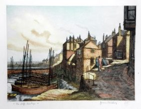 James Priddey - Newlyn, The Cliff