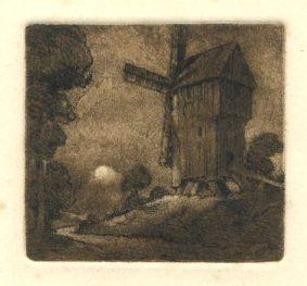 A T Roberts - Windmill
