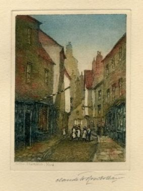 Claude H Rowbotham - Little Shambles, York