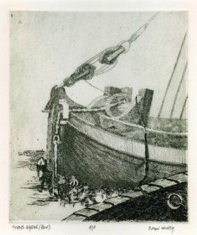 Simon Winch- Thames Barge Bow