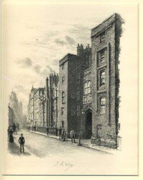Thomas Robert Way - Gateway to Lincolns Inn