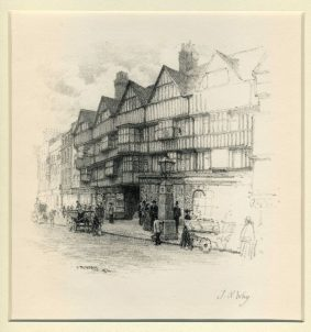 Thomas Robert Way - Staple Inn, High Holborn