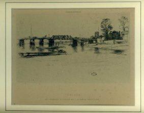 JAMES ABBOTT McNEIL Whistler - Chelsea